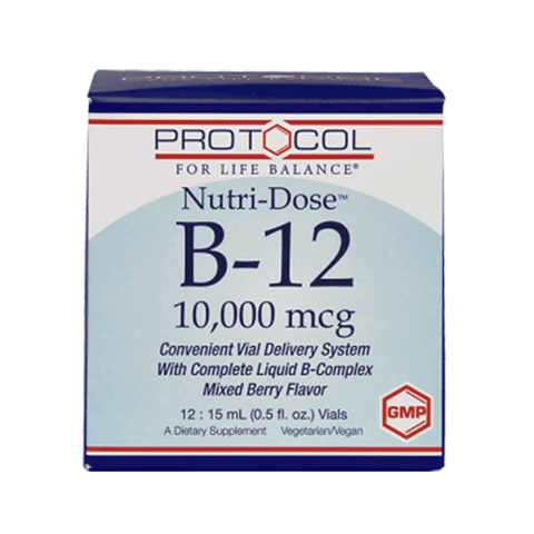 Protocol - B12 Drinkables