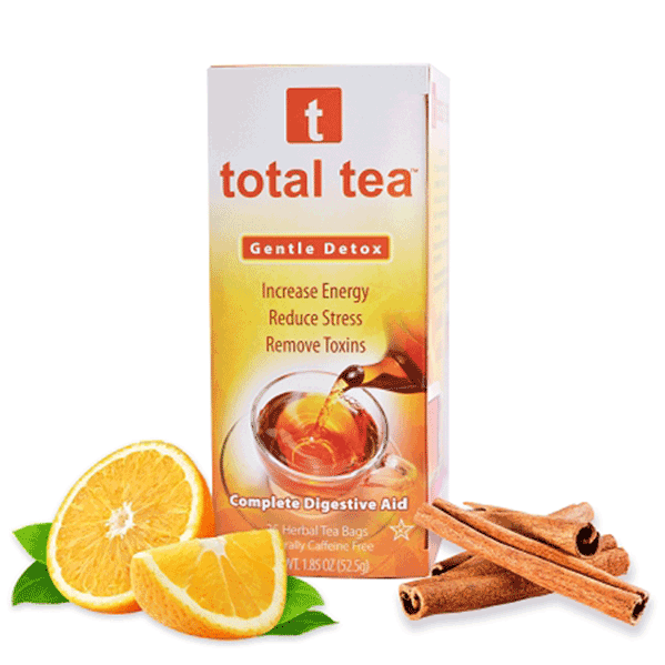 All Natural Colon Cleanse Gentle Detox Tea - Total Tea | DECALO Weightloss, Wellness and Pain Mngt.
