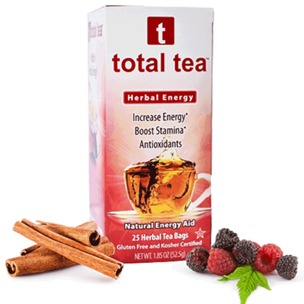 All Natural Herbal Energy Tea | Total Tea | DECALO Weightloss, Wellness and Pain Mngt.