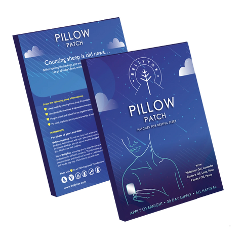 Pillow Patch for restful sleep and jet lag | DECALO Weightloss, Wellness and Pain Mngt.