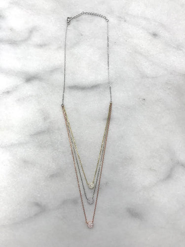 Three Tier Necklace