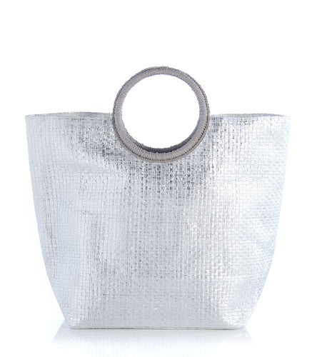 Andra Tote in Silver