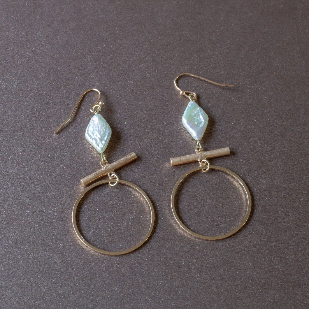 delicate simple earrings