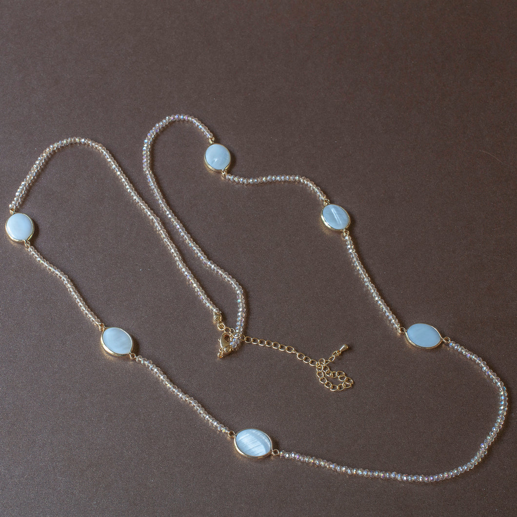 long station necklace mop