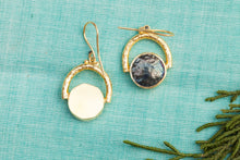 circle in a circle earrings