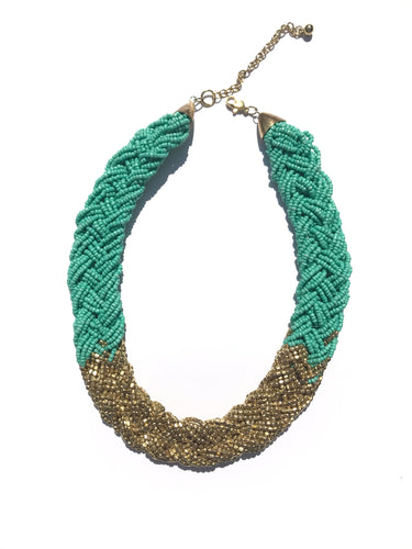 Kalua Beaded Statement Necklace- Multiple Colors