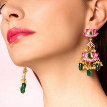 diwali statement earrings