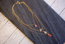 multi layered delicate necklace