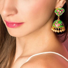 Indian jumka earrings