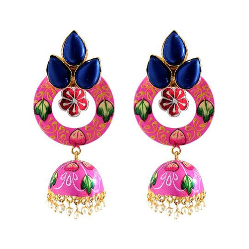 Sisodia Pink Earrings
