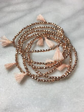 rose gold stretch bracelets