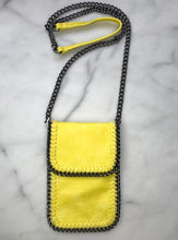 yellow vegan bag