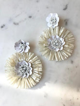 Daisy Flower Burst Statement Earring