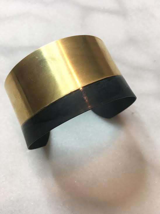 black halo golden cuff