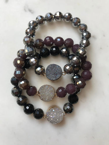 Druzzies Stretch Bracelet