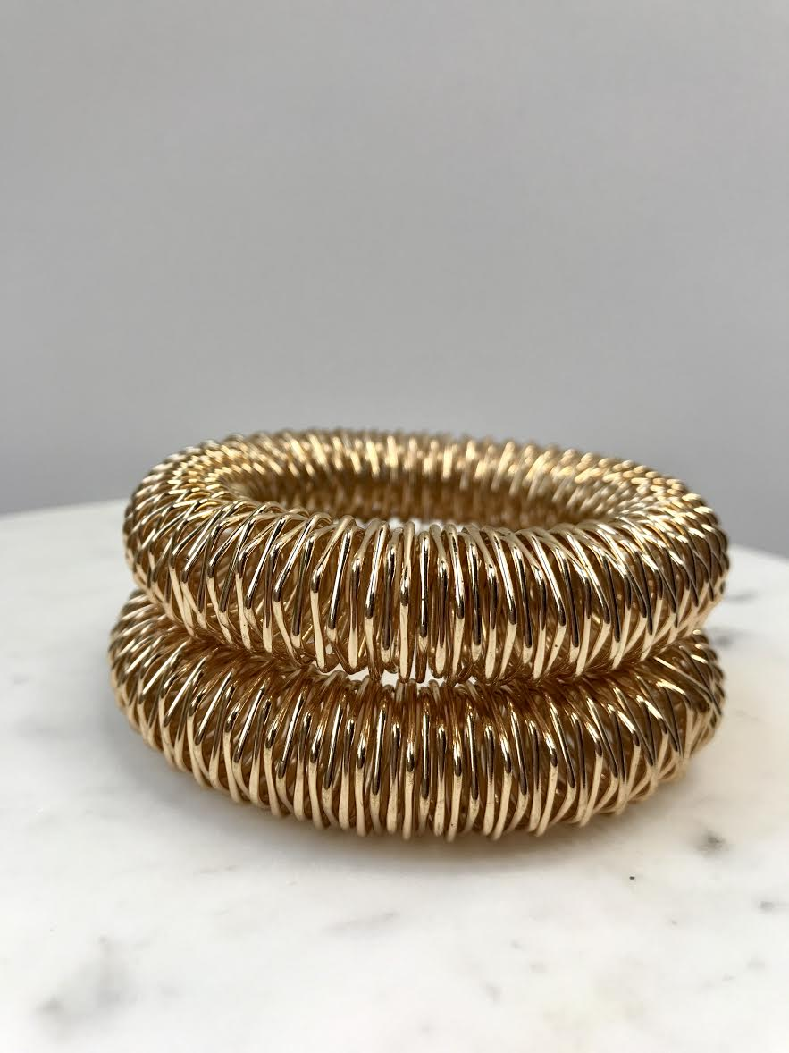 golden bangle bracelets