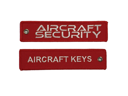 Aircraft Security Key Tag