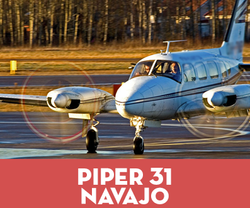 Piper PA31 / PA42 Non Turbine Medeco Lock Set