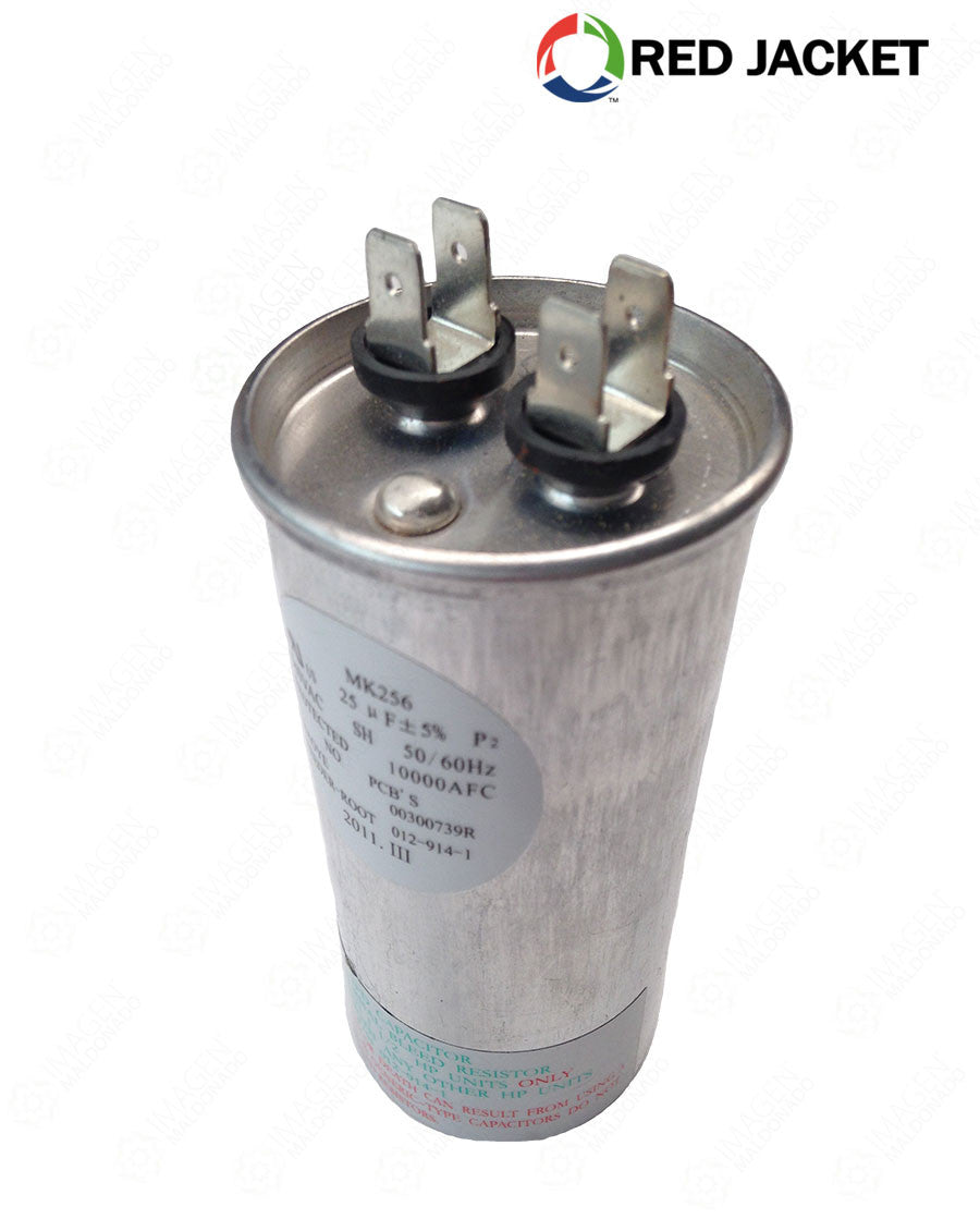 244-007-5 CAPACITOR P/CABEZAL RED JACKET 2HP 40MFD RED JACKET Capacitores
