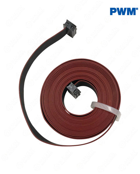 33000843 CABLE FLATRIBBON 20 POL 3.5 5 y 7 MTS 2 PLUG PWM