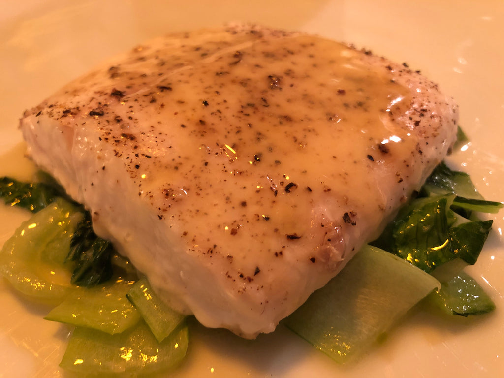 Uncle Waltie's Quick Local Halibut Perfection