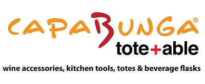 CapaBunga & tote+able -Inventors and makers of wine accessories, beverage flasks and kitchen tools