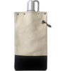 Black & Natural - Canvas Canteen 750ml with Cap & Chain