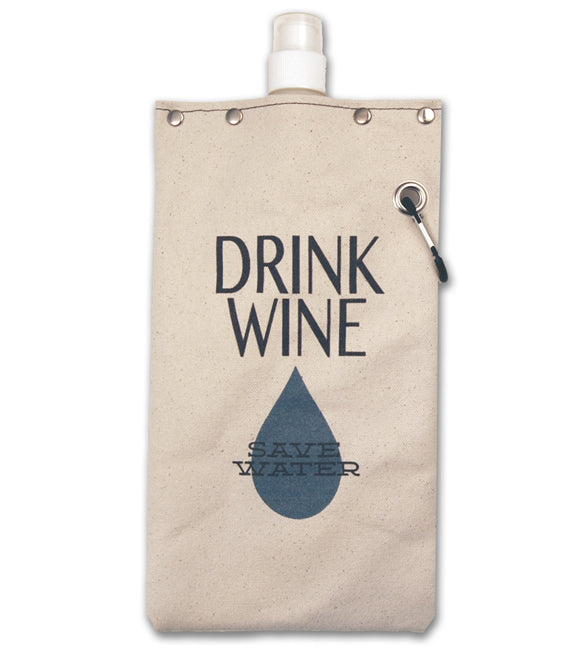 Save Water - Canvas Canteen 750ml