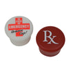 Rx/In Case of Emergency Remove Cap