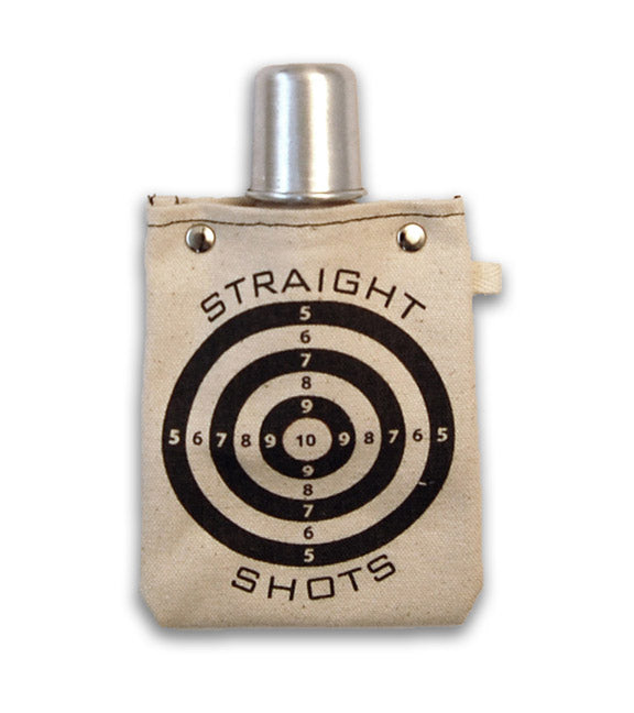 Straight Shot - Canvas Flask 120ml