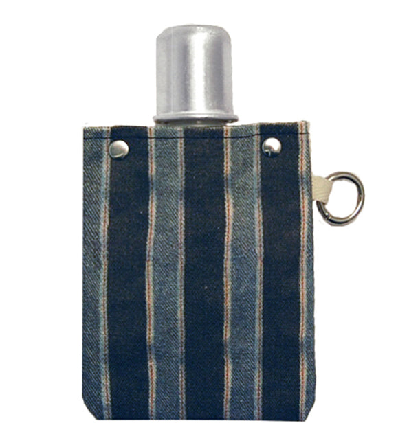 Striped Denim - Canvas Flask 120ml