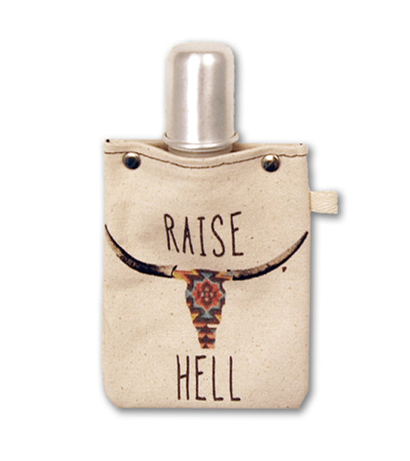 Raise Hell - Canvas Flask 120ml