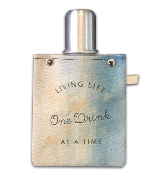 One Drink - Canvas Flask 120ml
