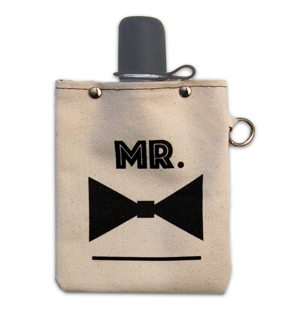 Mr. - Canvas Flask 240ml