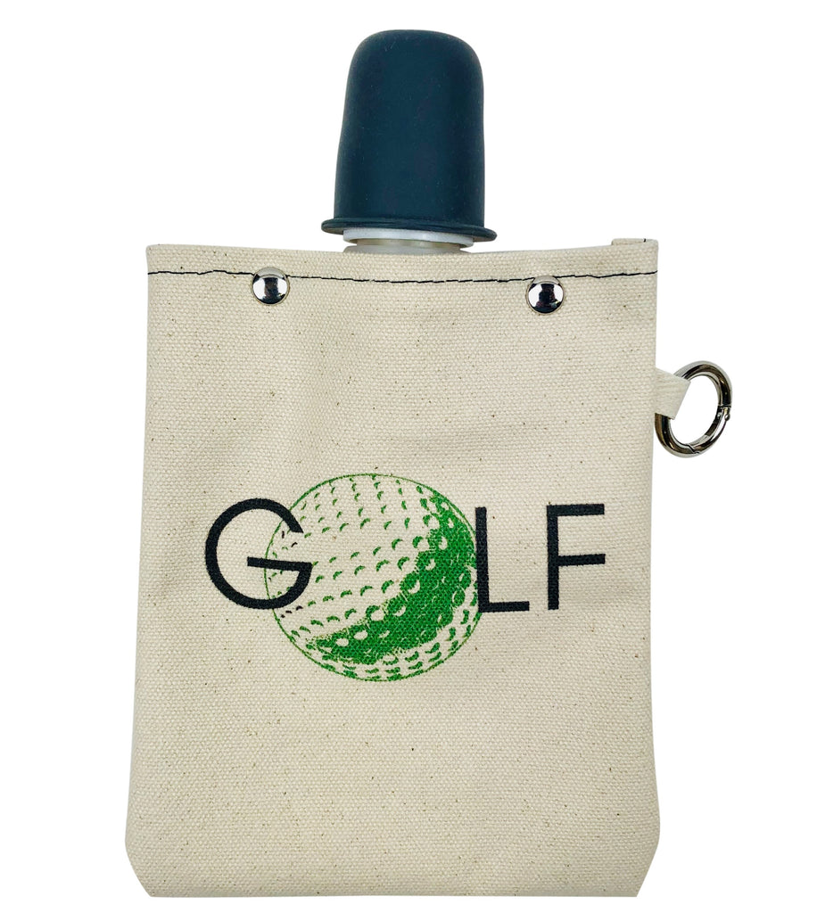 Golf Ball - Canvas Flask 240ml