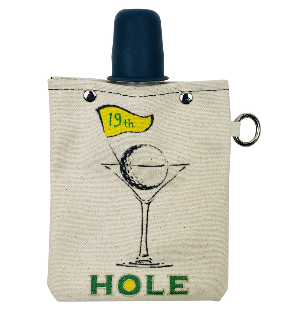 Golf Cocktail - Canvas Flask 240ml