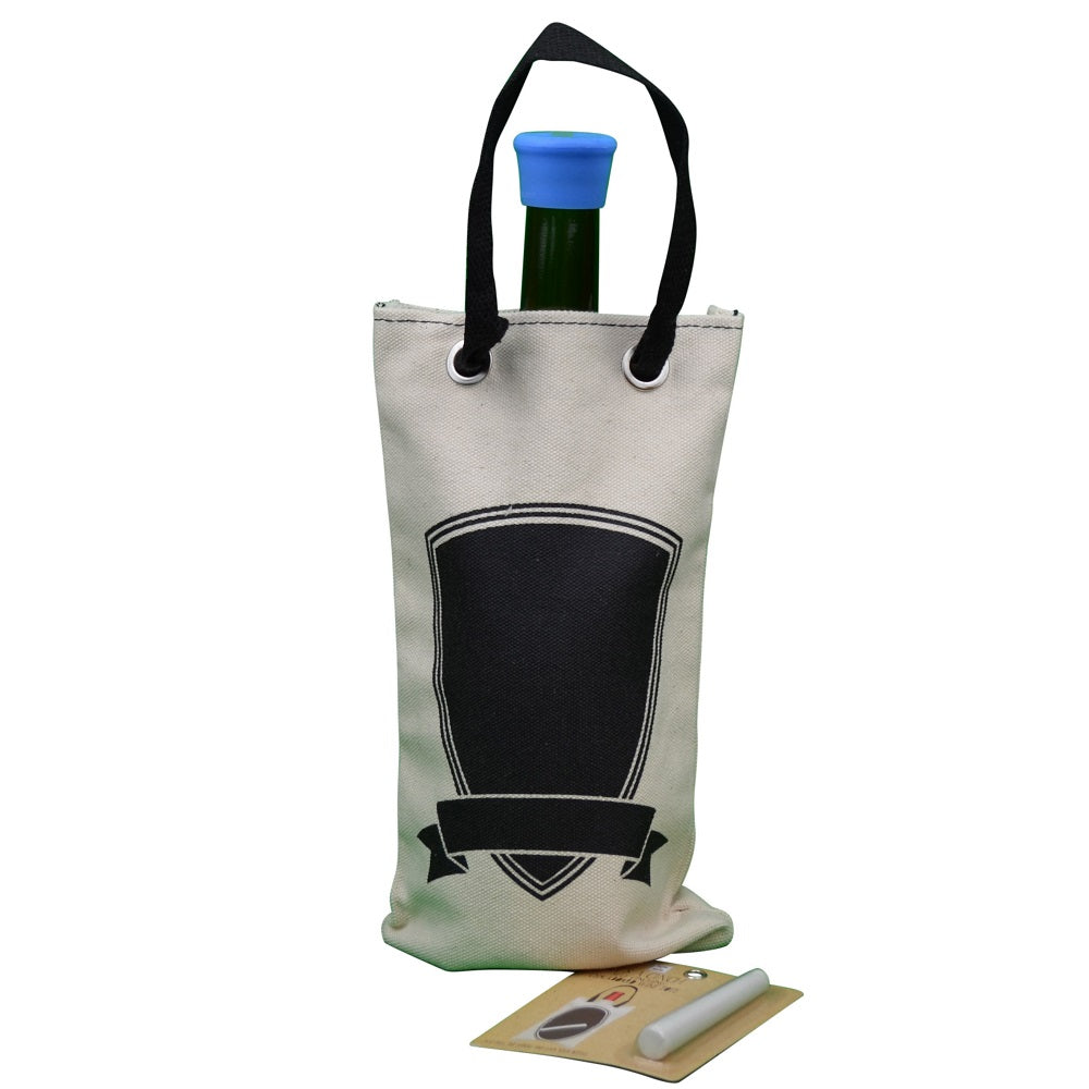 CINCH Wine Totes (Shield with Chalk)
