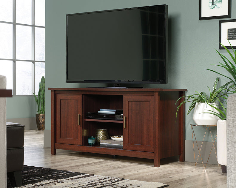 Brookland Entertainment Center/TV Stand - Select Cherry Finish