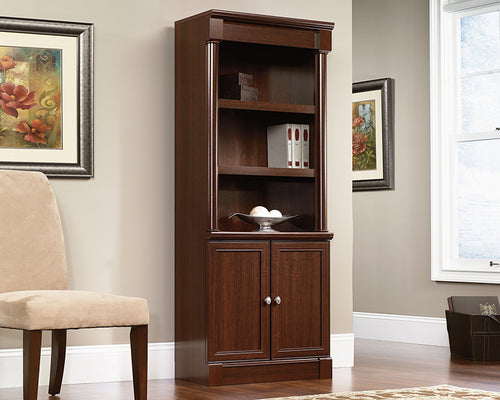 Palladia Library with Doors - 4 Color Finishes Available