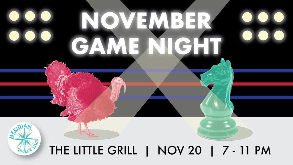 November Game Night (Monday 11/20)