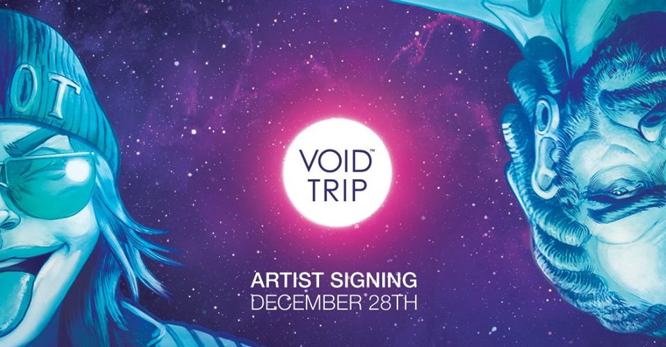 Void Trip #2 Release Signing with Plaid Klaus