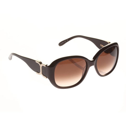Chloe's Ladies Sunglasses in Brown.