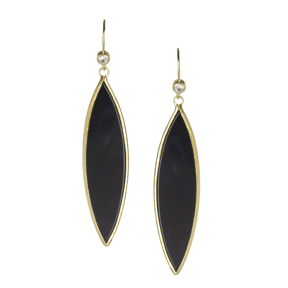 Marquise Dangle Earrings by Rivka Friedman