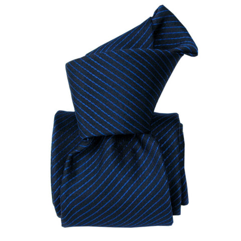 Classic Striped Men's Silk Italian Tie