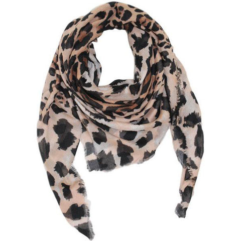 Animal Printed Scarves in Multiple Colors by Fattorseta