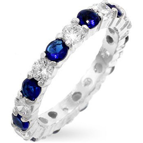 Mini Christine Band in Sapphire