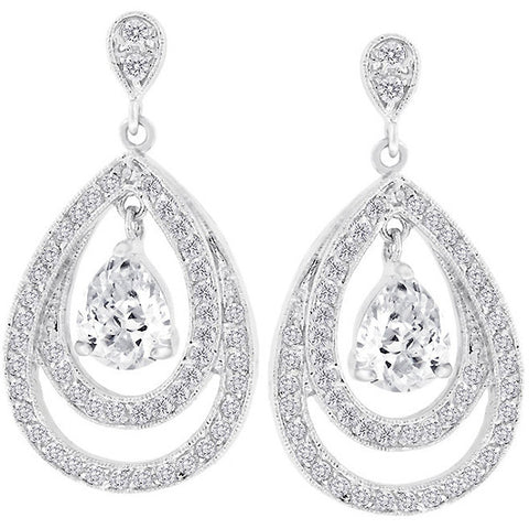 Tear Drop Milan Earrings