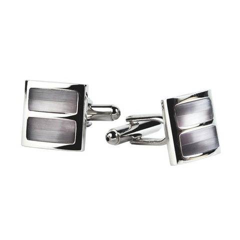 Mens Silver Cuff Links by Antartide