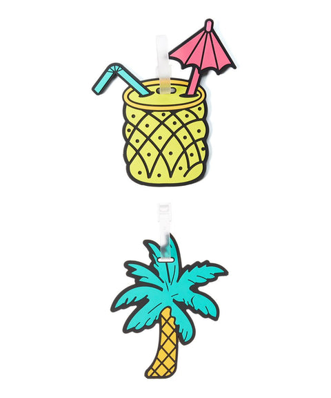 Tropical Luggage Tags by Betsey Johnson