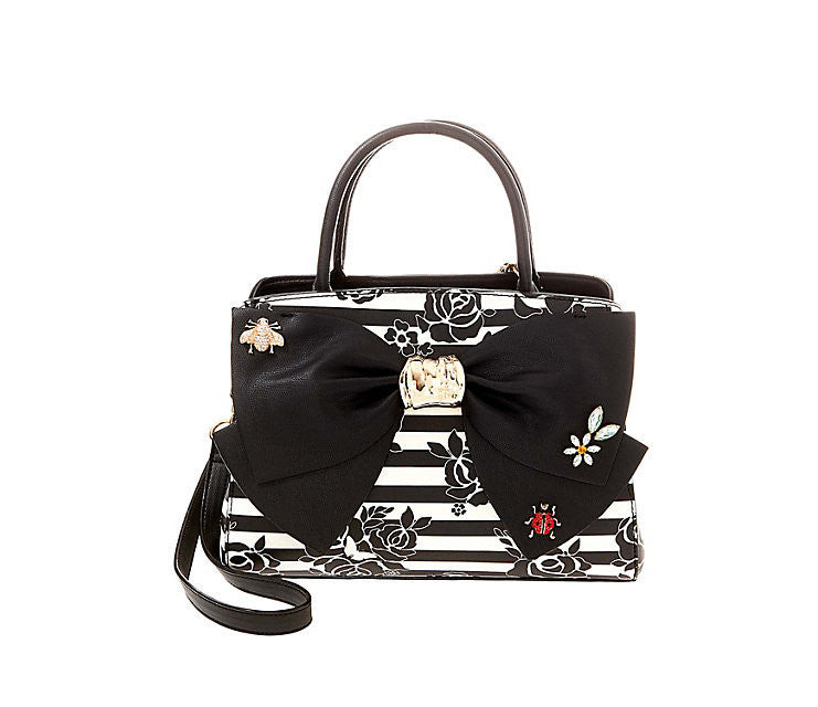Glam Garden Bow Satchel by Betsey Johnson